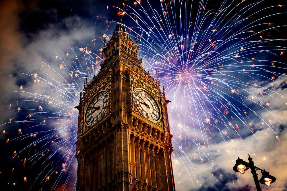 Pandemic Twist: London's New Year's Eve Fireworks ...