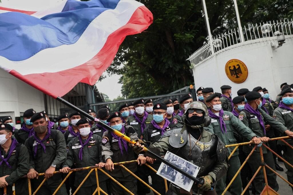 Thousands of Protestors Rally in Bangkok as Thai PM Refuses to Resign