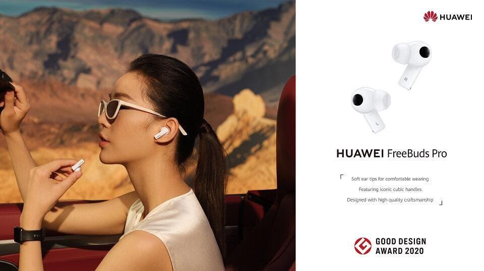 design Huawei FreeBuds Pro