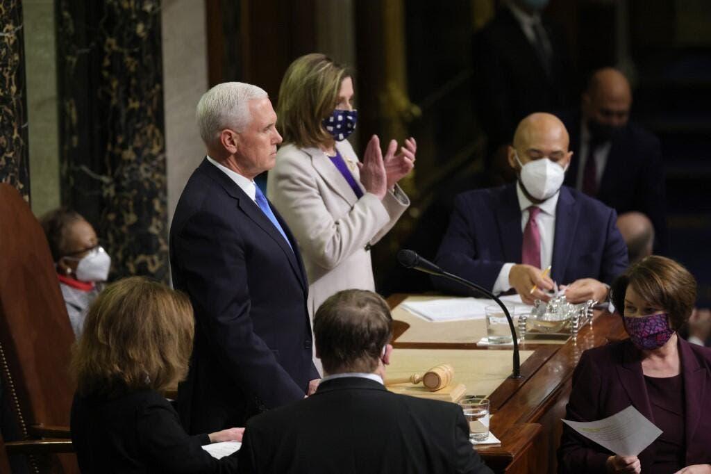 Pence announces Biden as winner after Congress finishes