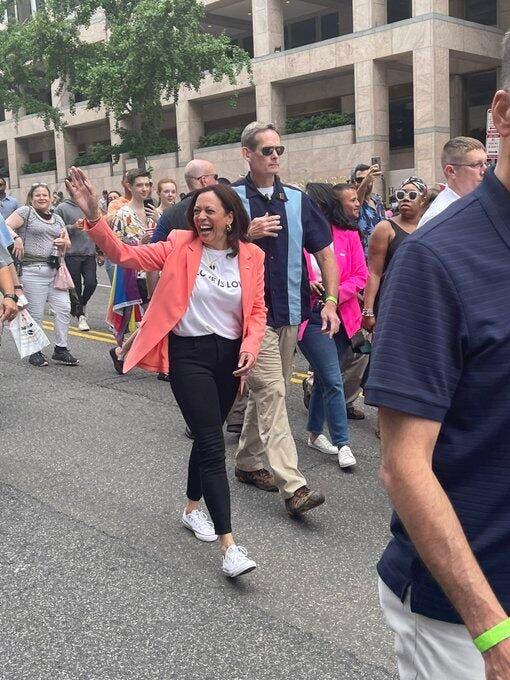 Kamala Harris Joins The Capital Pride Walk in Washington