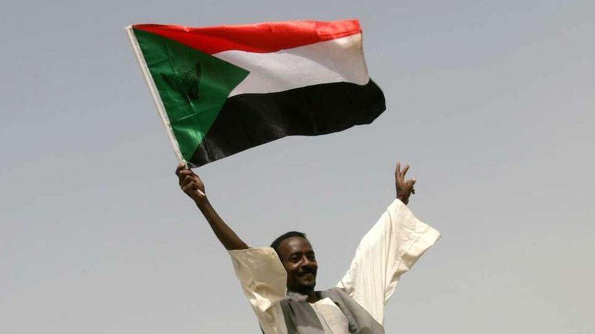 SUDAN FLAG afp