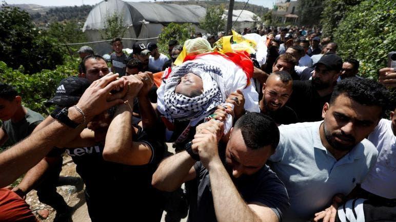 شهيد وعشرات المصابين في مواجهات مع الاحتلال في نابلس