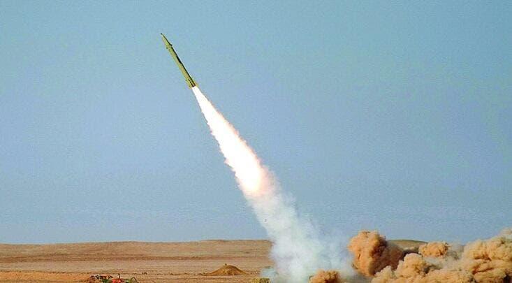 تدمير صاروخ باليستي أطلقه الحوثيون جنوب السعودية