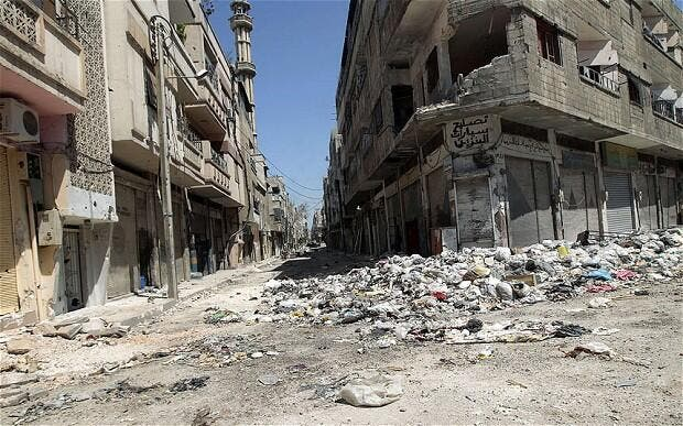Russia Rejects Truce Proposal by Syrian Opposition in Homs ...