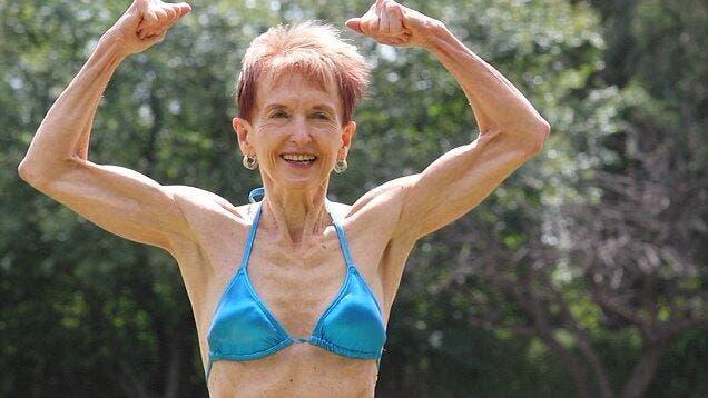 This Incredible 75-Year-Old Bodybuilding Grandma Has Just