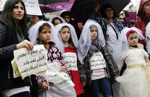 18% of Syrians Married Before 19 in Lebanon