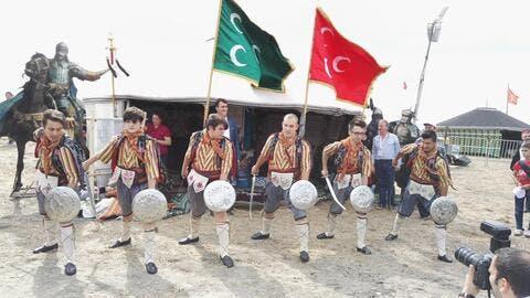 Ataturk Airport Hosts Ethnosport Culture Festival