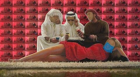 Explicit or Brave? Themes of Sex, Drugs and Alcohol in Kuwaiti Artist's Exhibit Prompt Govt Ban