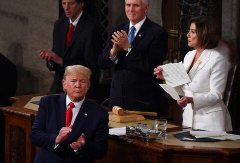 Arabs React to Pelosi Ripping Trump's Speech: What If She Were in the Middle East?