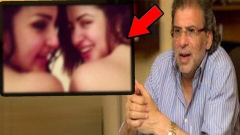 After Leaked Porn Tape With Director Khalid Youssef.. Actress Mona Farouq Threatens to Commit Suicide! (Video)