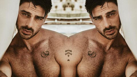 Is Michele Morrone Gay? Italian Actor Clarifies the Hot Picture He Took While Hugging a Topless Man