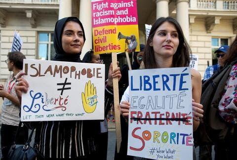 How Did Muslims React to Macron's Islamophobic Remarks?