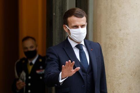 Macron: When in EU Meeting Talk in French, Not English!