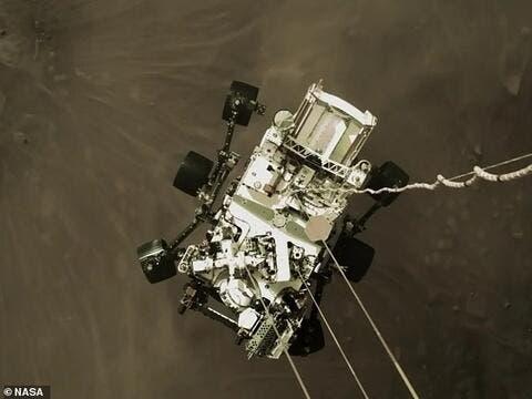 NASA Drops Helicopter on Martian Soil