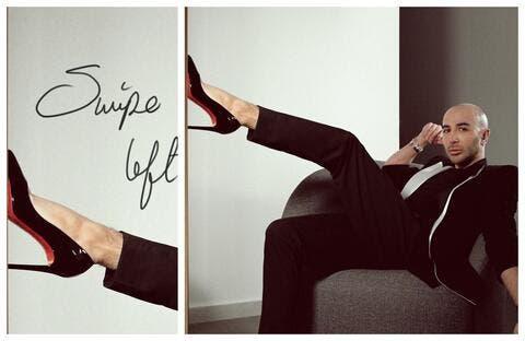 سامر خزامي بحذاء نسائي.. هل يكشف ميوله المثلية قريبًا؟