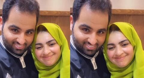 أميرة الناصر وقُبلة جريئة لزوجها في نهار رمضان وتلميحات جنسية