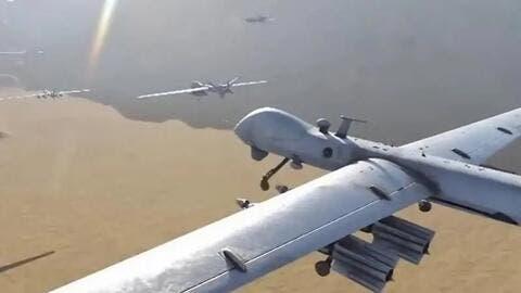 التحالف بقيادة السعودية يدمر ثلاث طائرات مسيرة ملغومة أطلقت صوب جازان