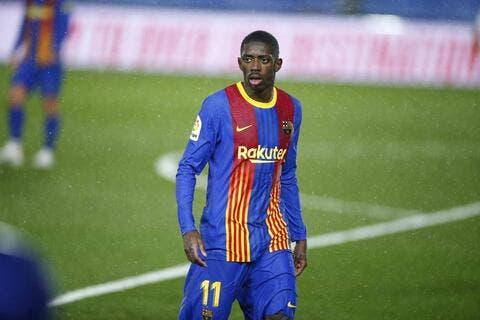 برشلونة يخشى تعرض ديمبيلي لإصابة جديدة