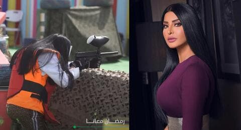 ريم عبد الله لم تتأثر بطلقات رامز جلال.. والجمهور