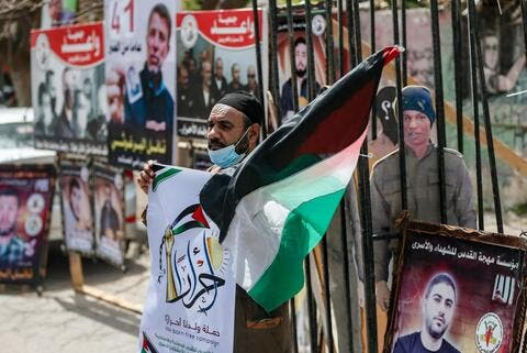The Israeli Military Bombards The Gaza Strip