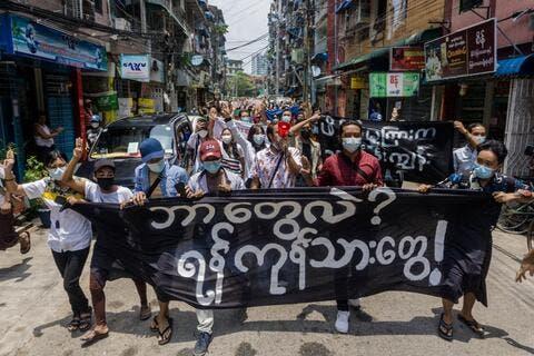 Myanmar Armed Group Takes Army Base Near Thai Border