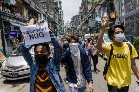 China's Envoy Hints of Possible Civil War in Myanmar