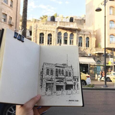 Architect Captures Jordan Through an Artistic Eye