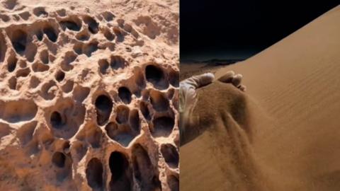 Is this Saudi Man Sending TikTok Videos From Mars?