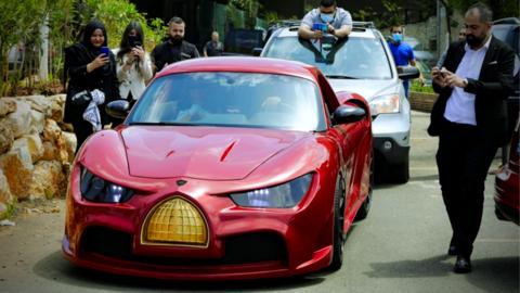 Made in Lebanon: Electric Car Celebrated Despite Deep Economic Calamity