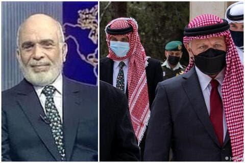 الأمير حمزة يرتدي ربطة عنق والده الملك حسين في أول ظهور علني له الى جانب شقيقه