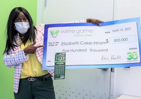 Birthday Lottery Earns Woman an Extra $500,000