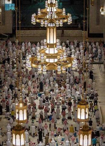 Makkah: 120,000 Lights Illuminate The Grand Mosque