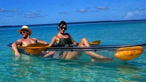 16 Pictures of Lovers Kerem Bürsin and Hande Erçel From Their Maldives Trip