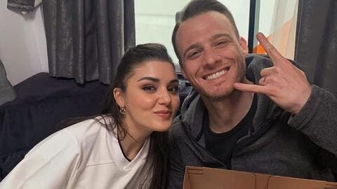 Did You Know That Kerem Bürsin and Hande Erçel Have Tattoos?! (Pictures)