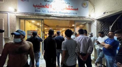 بغداد.. 82 قتيلا حصيلة ضحايا حريق مستشفى ابن الخطيب