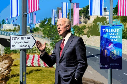 Joe Biden on Jerusalem's Status: Still the Capital, but...