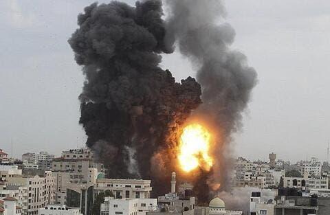 استشهاد فلسطينية بغارة إسرائيلية على غزة يرفع حصيلة المواجهات إلى 257 شهيدا