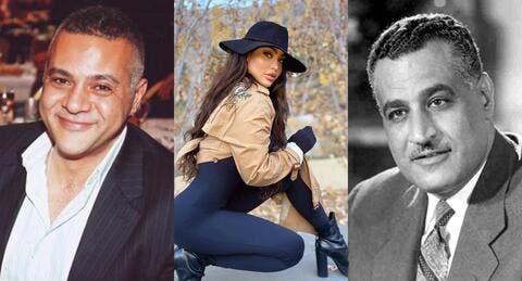 قمر اللبنانية تفتح ملف والد طفلها جمال مروان وجده جمال عبد الناصر!
