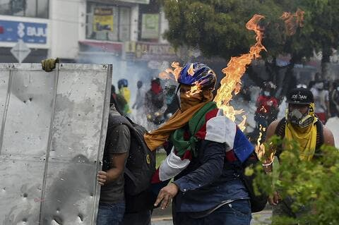Colombia Tensions Escalate as Protests Continue For The 8th Day