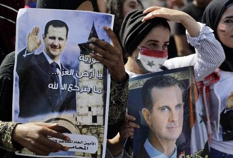 Syrians Hold Mock Presidential Elections in Germany