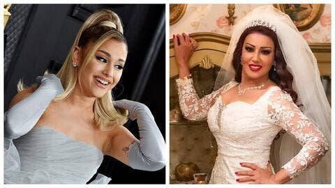سمية الخشاب تعرض نفسها للسخرية بعد تهنئة آريانا غراندي بزواجها..والمتابعون: