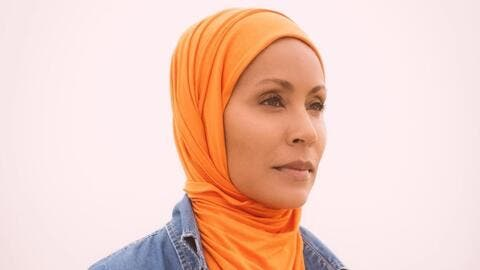 Muslim Yet?! Jada Pinkett Smith Shared 6 Pictures Sporting Hijab on Instagram.. Check Them Out