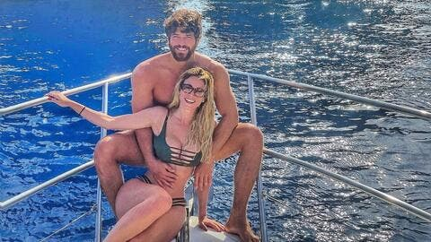 Kiss Me in the Sea! Unseen Pictures from Can Yaman and Diletta Leotta's Trip to Capri Island