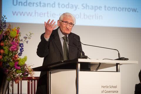 German Philosopher Jürgen Habermas Turns Down Prestigious UAE Award