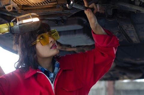 Meet The First Emirati Female Mechanic