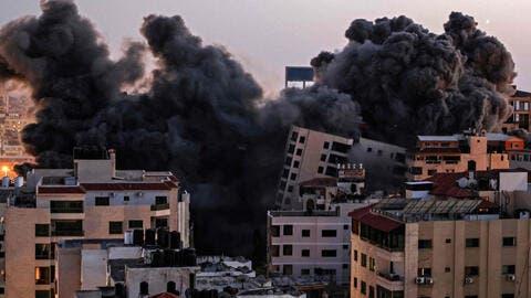 France Demands Israeli Clarifications For Bombing a Media Building