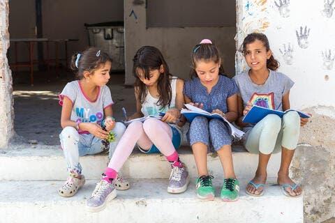 Refugee Kids in Lebanon Struggle Academically