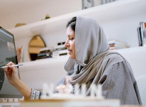 Princess Nourah Helps Young Saudis in The Design Industry