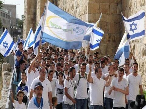 مسيرة الأعلام الإسرائيلية تثير مخاوف من تجدد أعمال العنف